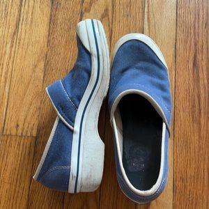 Dansko Valley slippers assistant slip on canvas 39